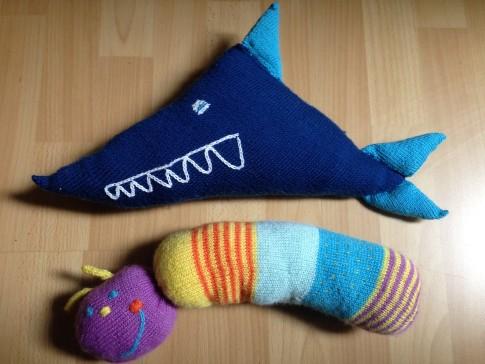 Wurm und Hai