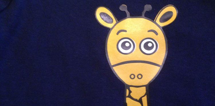 Tom die Giraffe